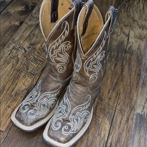 Justin cowgirls boots